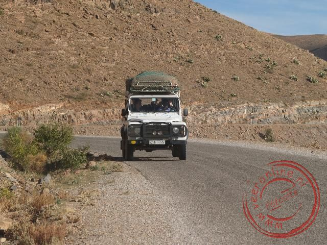 Onderweg met de jeeps
