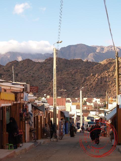 Een straatje in Tafraoute