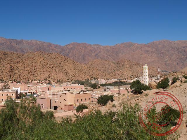 Uitzicht over Tafraoute