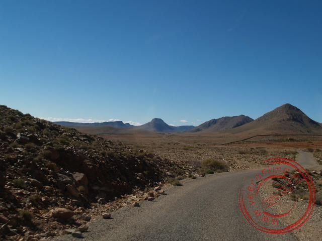 Het woestijn landschap