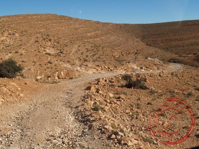 De slechte weg naar Amtoudi