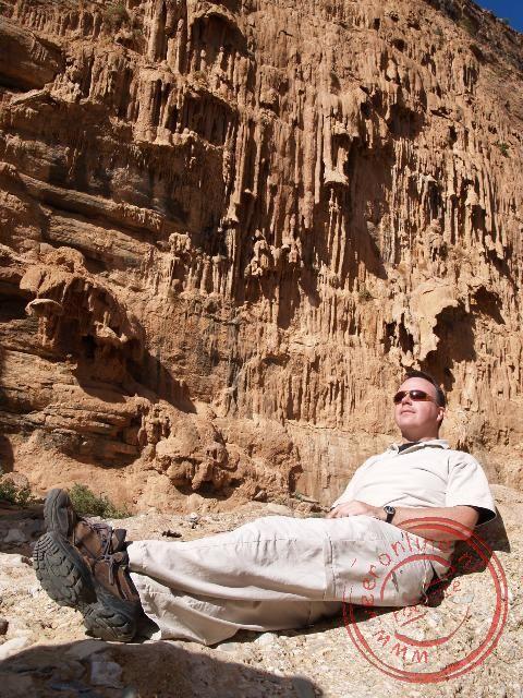 Even uitrusten in het zonnetje