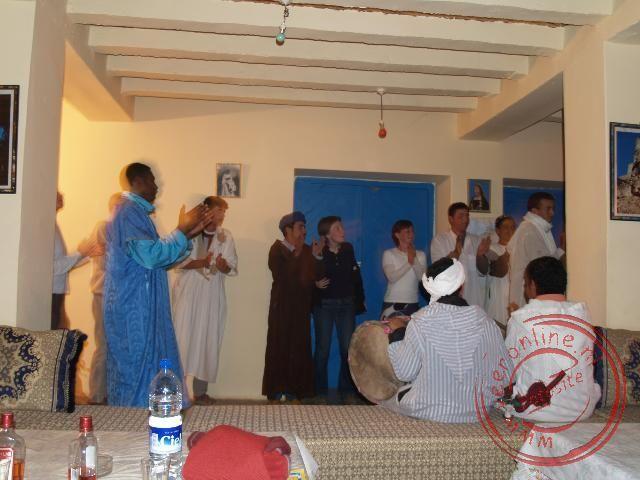 Traditionele Marokaanse dans en muziek