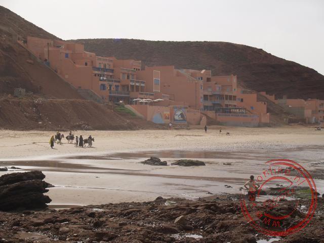 Het strand van Legzira