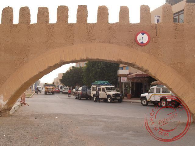 De toegangspoort naar Tiznit