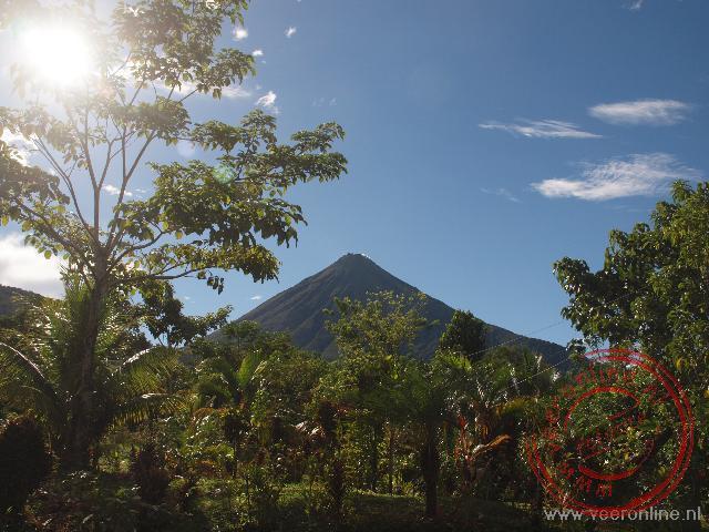De Arenal vulkaan bij La Fortuna