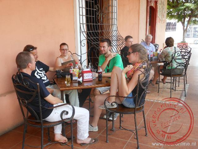 Een terrasje in Rivas