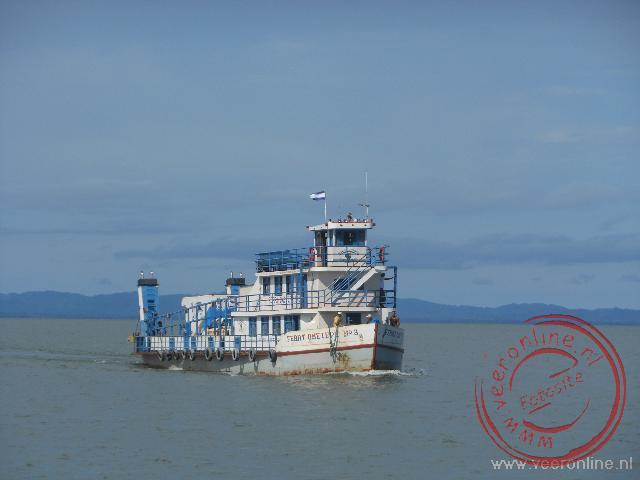 De veerboot naar het Isla de Ometepe