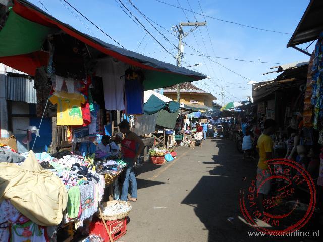 De markt van Granada in Nicaragua