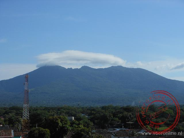 De Mombacho vulkaan vanuit Granada
