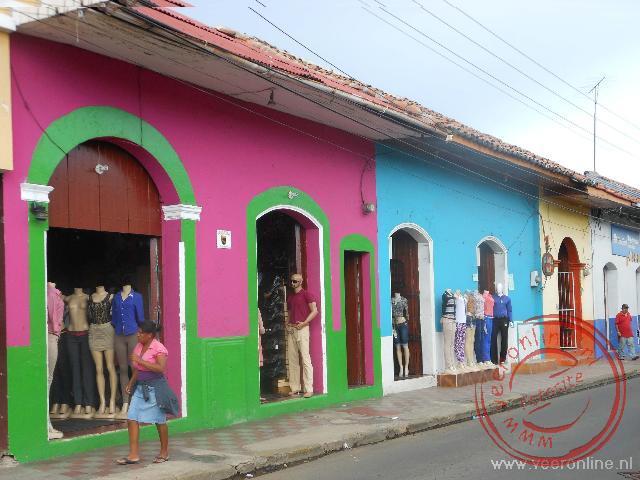 Felle kleuren in de straten van León