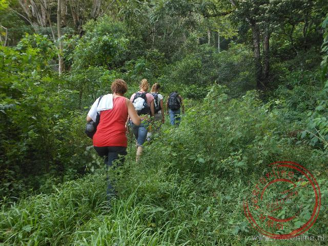 Een natuurwandeling door het natuurgebied Cerro Apante