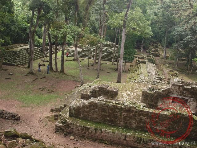 De ruines van Copan