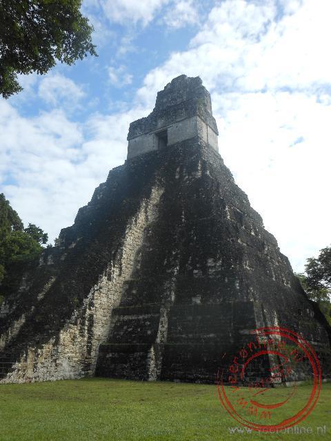 De tempel I op de Great Plaza