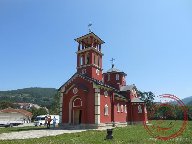 De fraaie kerk van Mojkovac