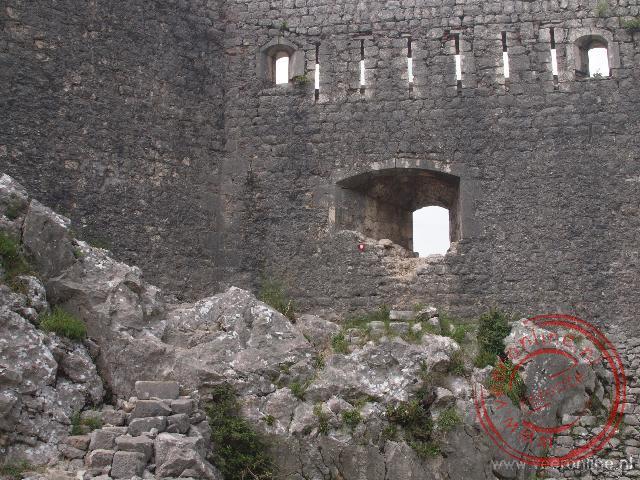 Het fort van Kotor