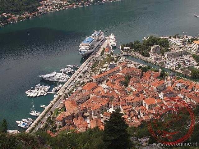 Het oude centrum van Kotor