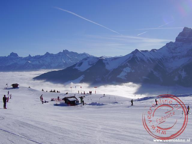 Wintersport Morgins - Wolkendek
