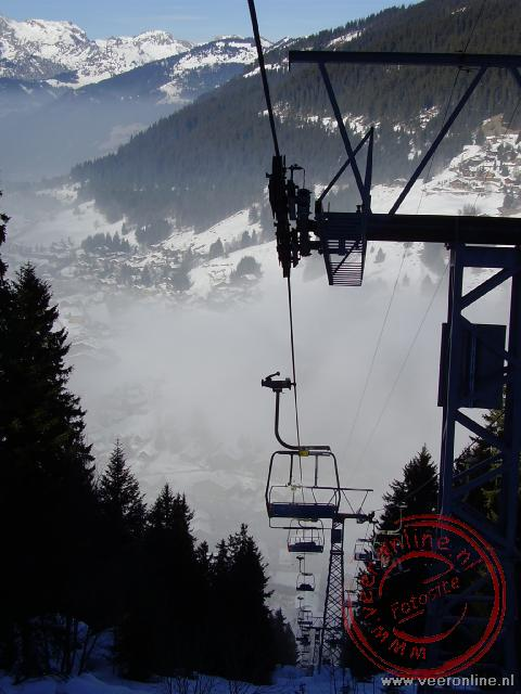 Wintersport Morgins - Morgins in de mist