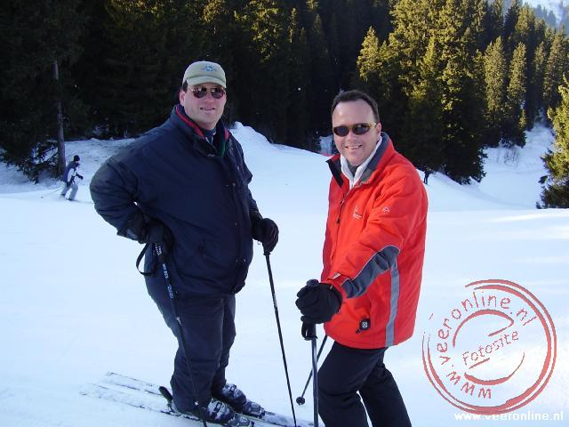 Wintersport Morgins - Rob en Ronald