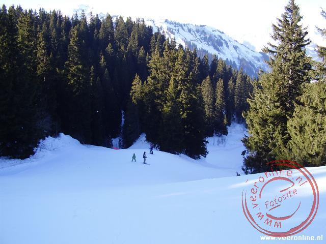 Wintersport Morgins - Rode piste