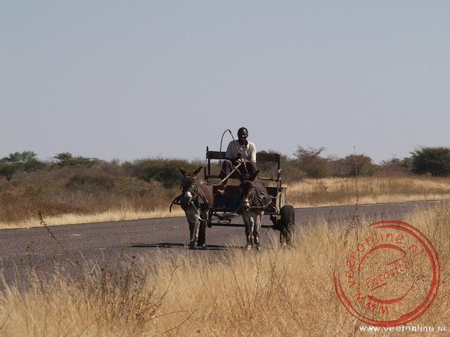 Het lokale vervoer op de weg
