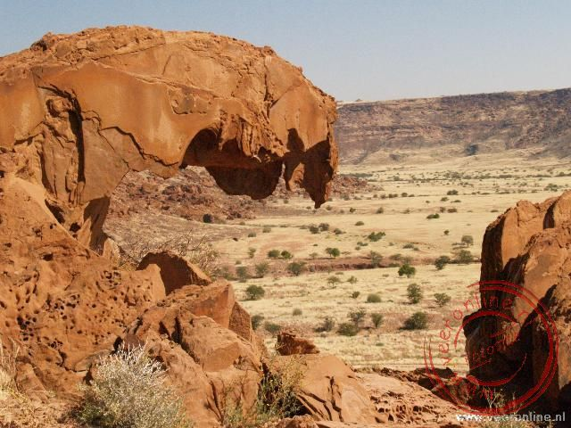 De rotsformaties bij Twijfelfontein