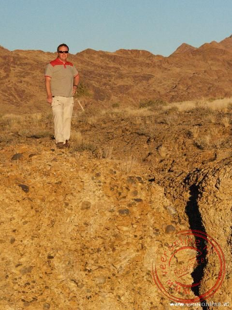 Ronald bij de Canyon