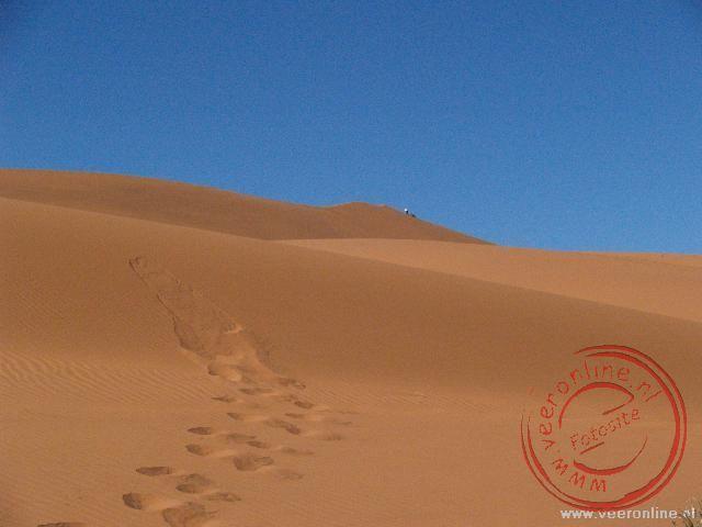 De woestijn van Namibië