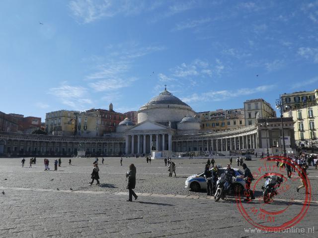 Het belangrijkste plein van Napels