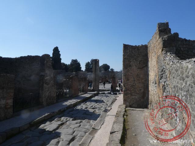 De Romeinse stad Pompeï werd bedolven onder het vulkanisch as
