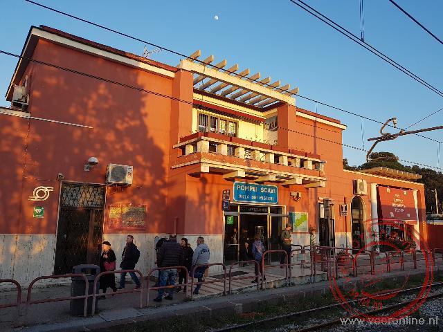 Het kleine station van Pompeï