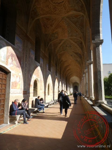 Het klooster Santa Chiara in de oude stad