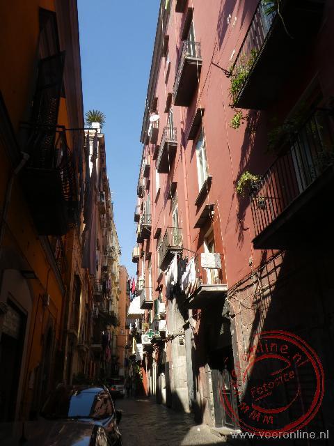 De smalle straten stammen nog uit de Romeinse tijd
