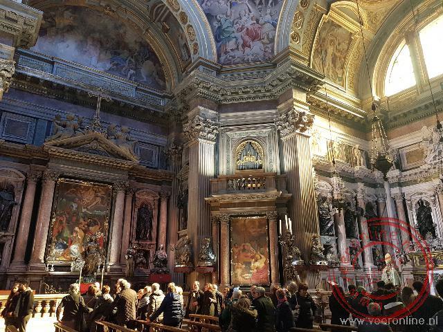 De kapel van San Gennaro in de Duomo di Napoli