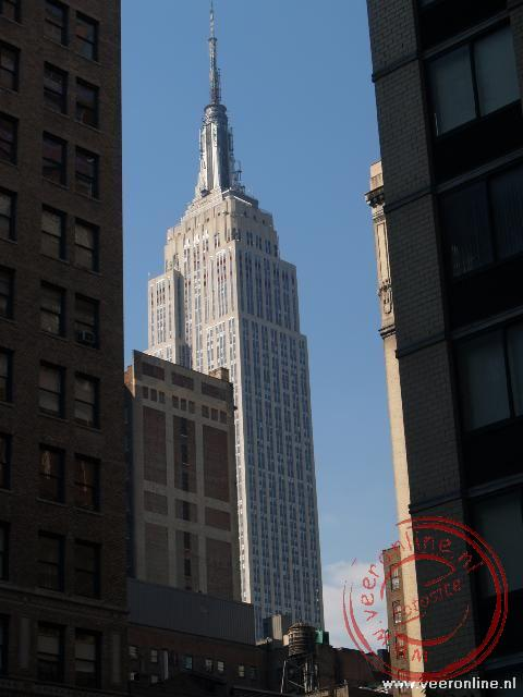 Stedentrip New York - De imposante Empire State Builiding in de 34th Street