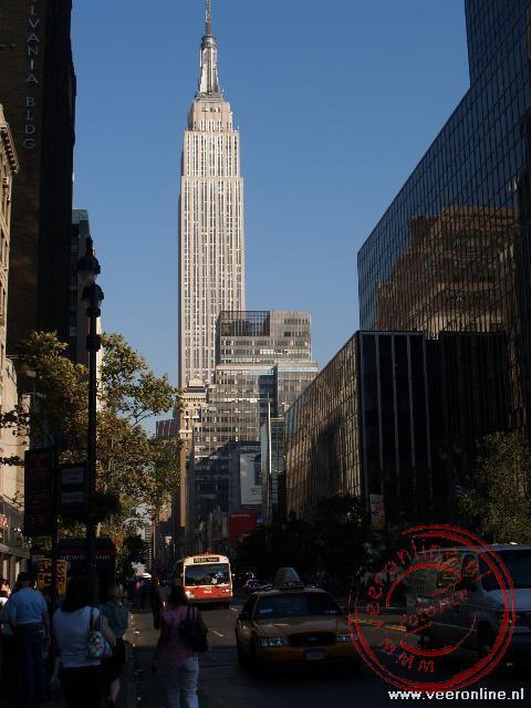 Met zijn 450 meter hoogte het hoogste gebouw van New York