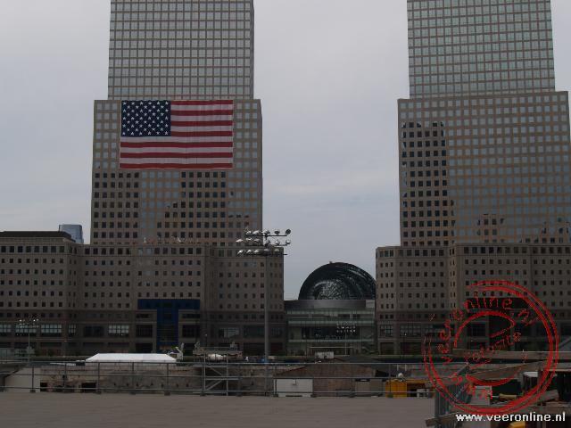 De plek van de World Trade Towers