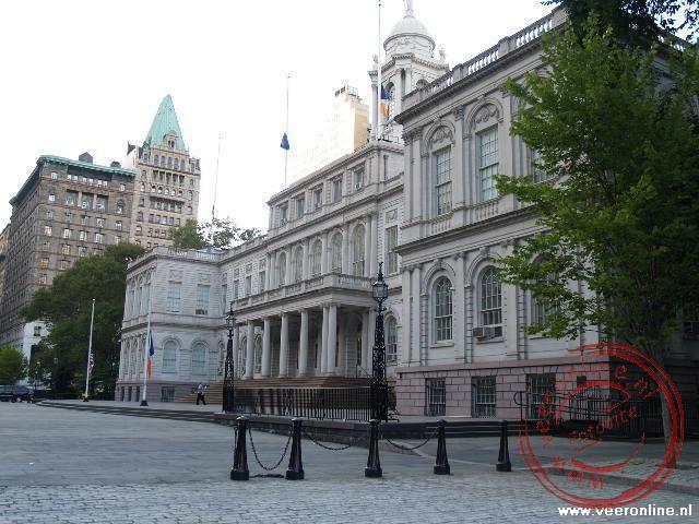 The City Hall van New York