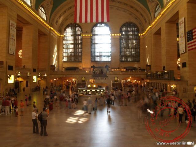 Het antieke interieur van Grand Central Station