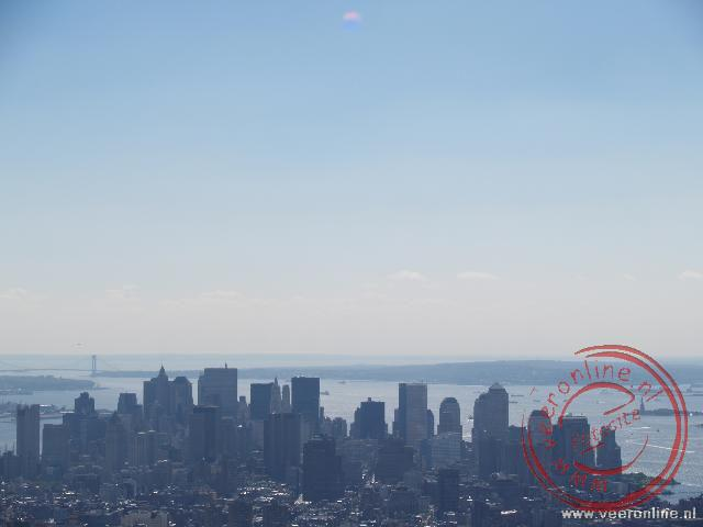 De skyline van Manhattan