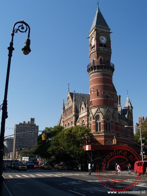 De Jefferson Market Library in de wijk Greenwich Village