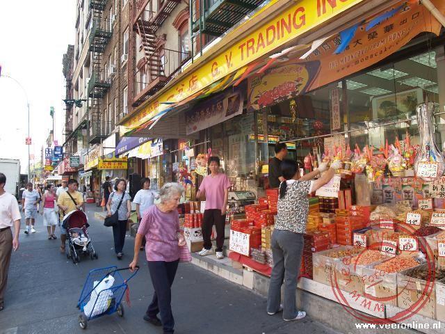 De wijk China Town