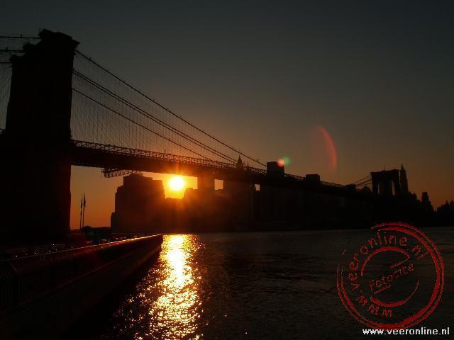 De Sunset over New York