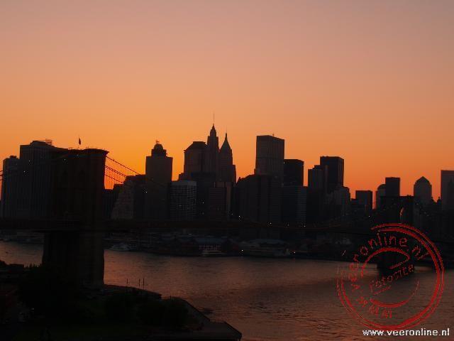 Zonondergang Manhattan