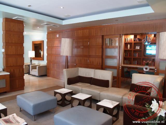De lobby van het Hotel The Marcel in de East 24 Street