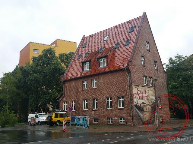 Het pension in Potsdam