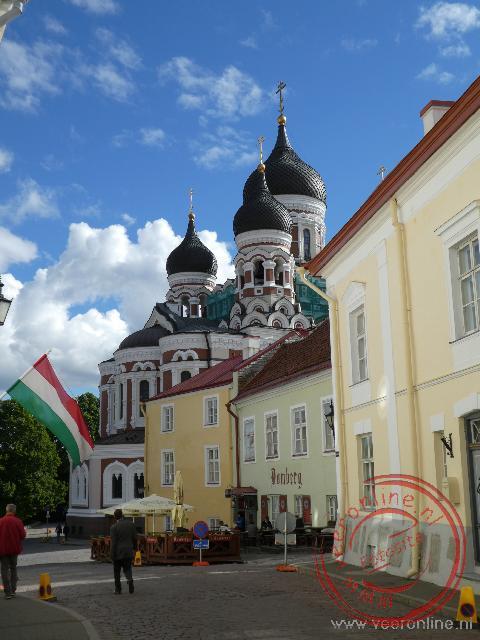 De kleurrijke Alexander Nevski kathedraal