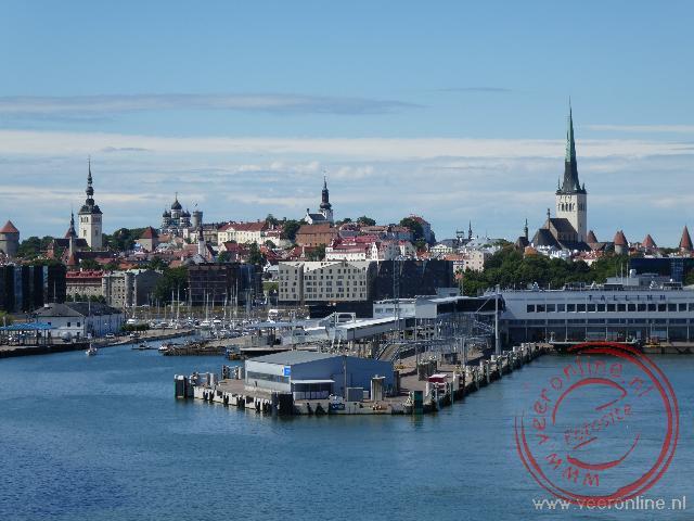 Het binnenvaren van Helsinki