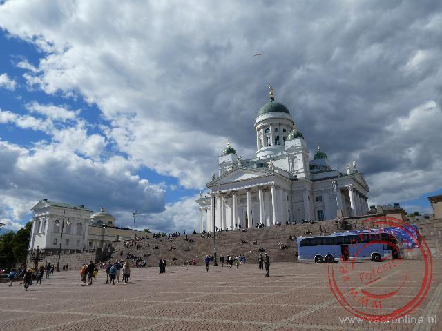 De Lutherse Domkerk is een symbool in Helsinki